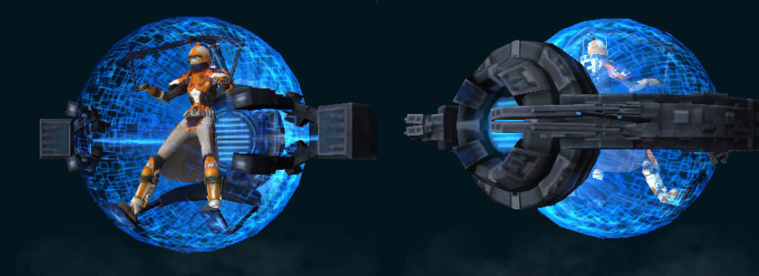 blue sphere speeder
