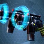 Swtor Kell Dragon Offhand and Mainhand Blaster Pistol