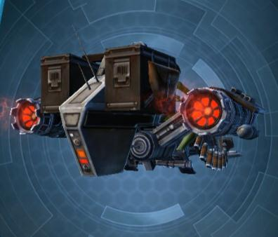 Swtor BH 7X Bounty Brokers Association Speeder Mount