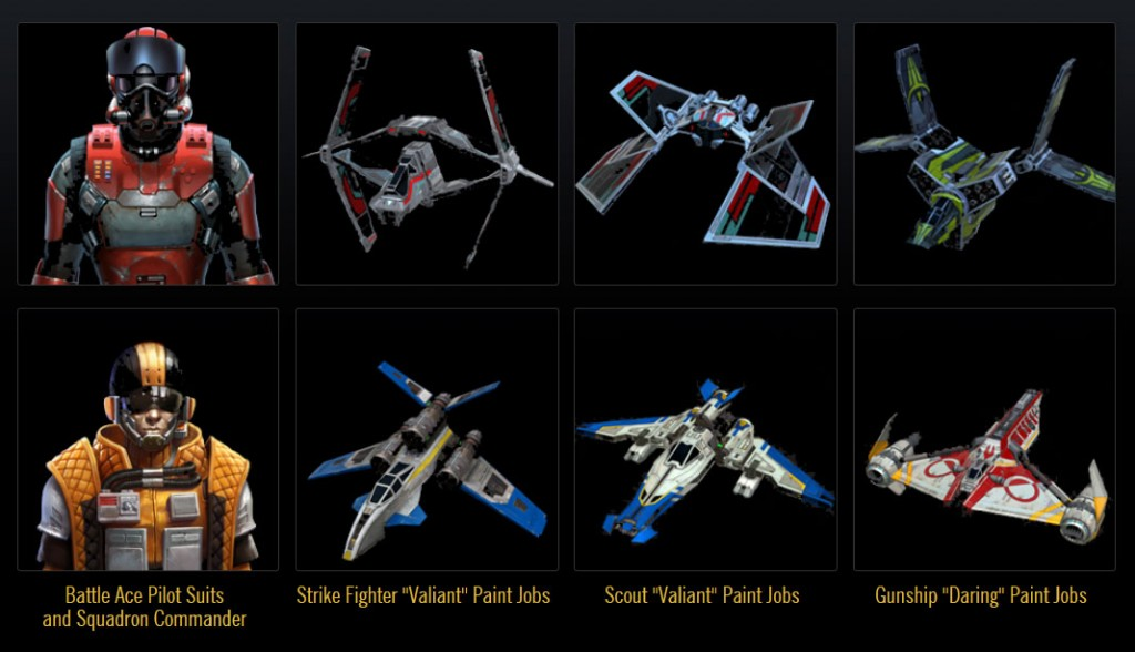 GALACTIC STARFIGHTER REWARDS