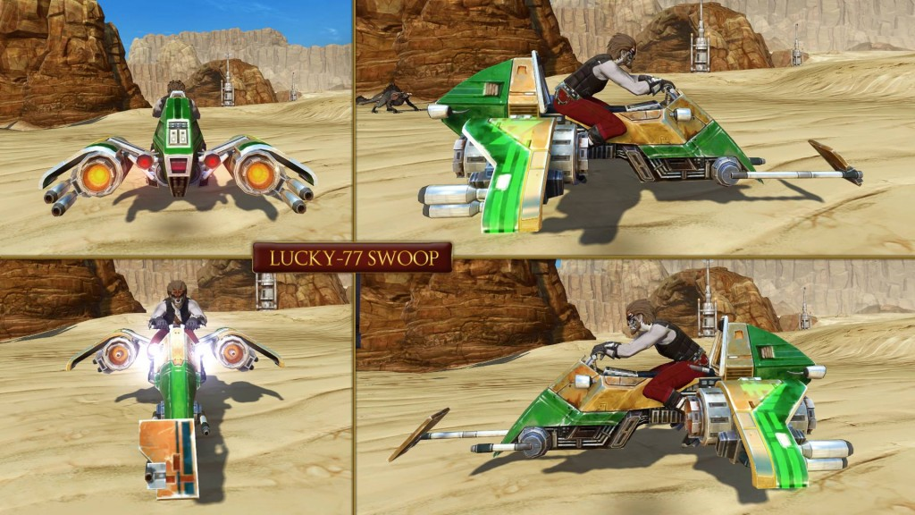 Lucky-77 Speeder