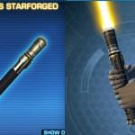 Desolators Starforged Lightsaber