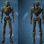 swtor Jungle Droid HK Customization