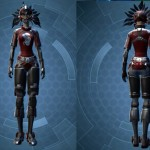 swtor Schematic Dark Red and Black Dye Module