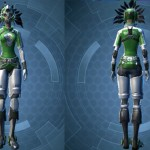 swtor Schematic Deep Green and White Dye Module