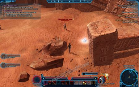 Boss mob Fallen Jedi Vald Inosp image 1  middle size