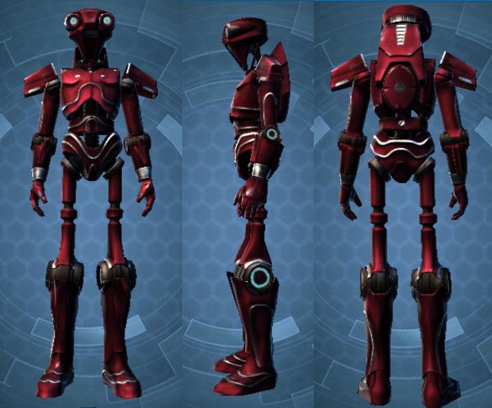 Crimson 2V-R8 Customization