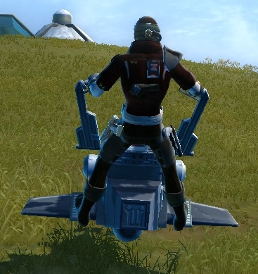 Czerka Patroller, rear view