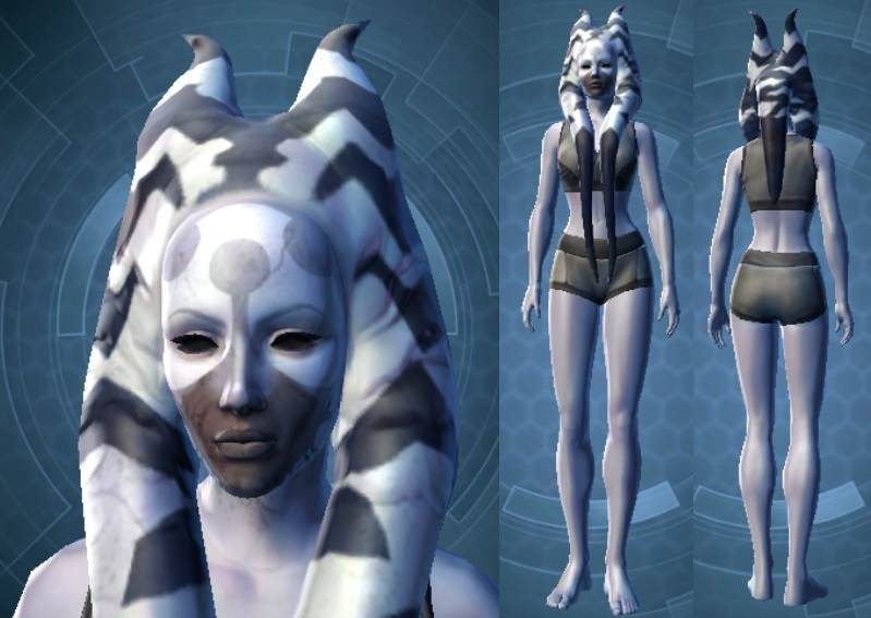 Plagued Ashara Zavros Customization