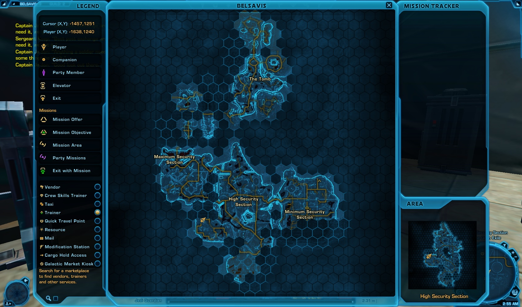 Sergeant Koep map