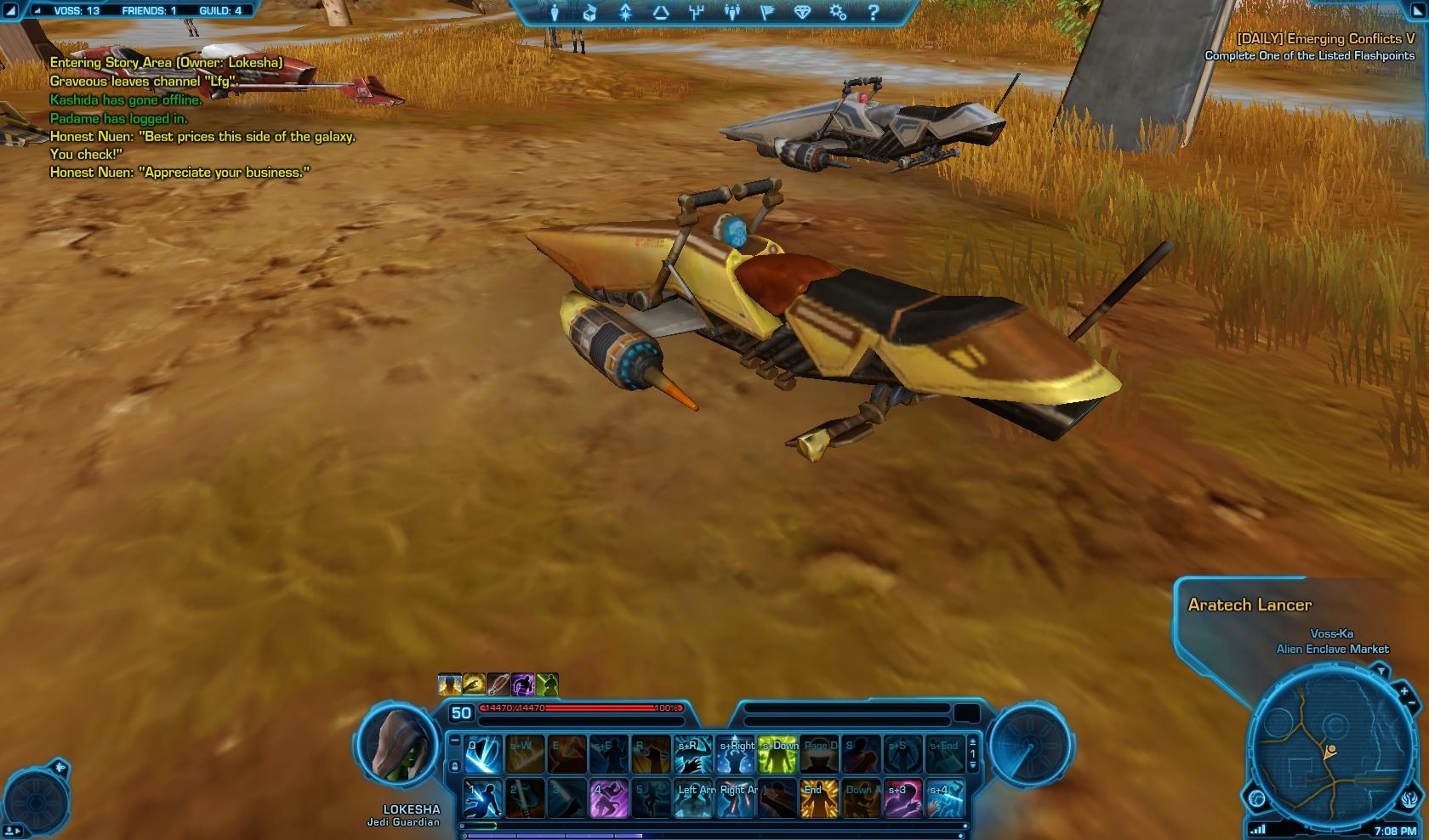 Aratech Lancer Speeder