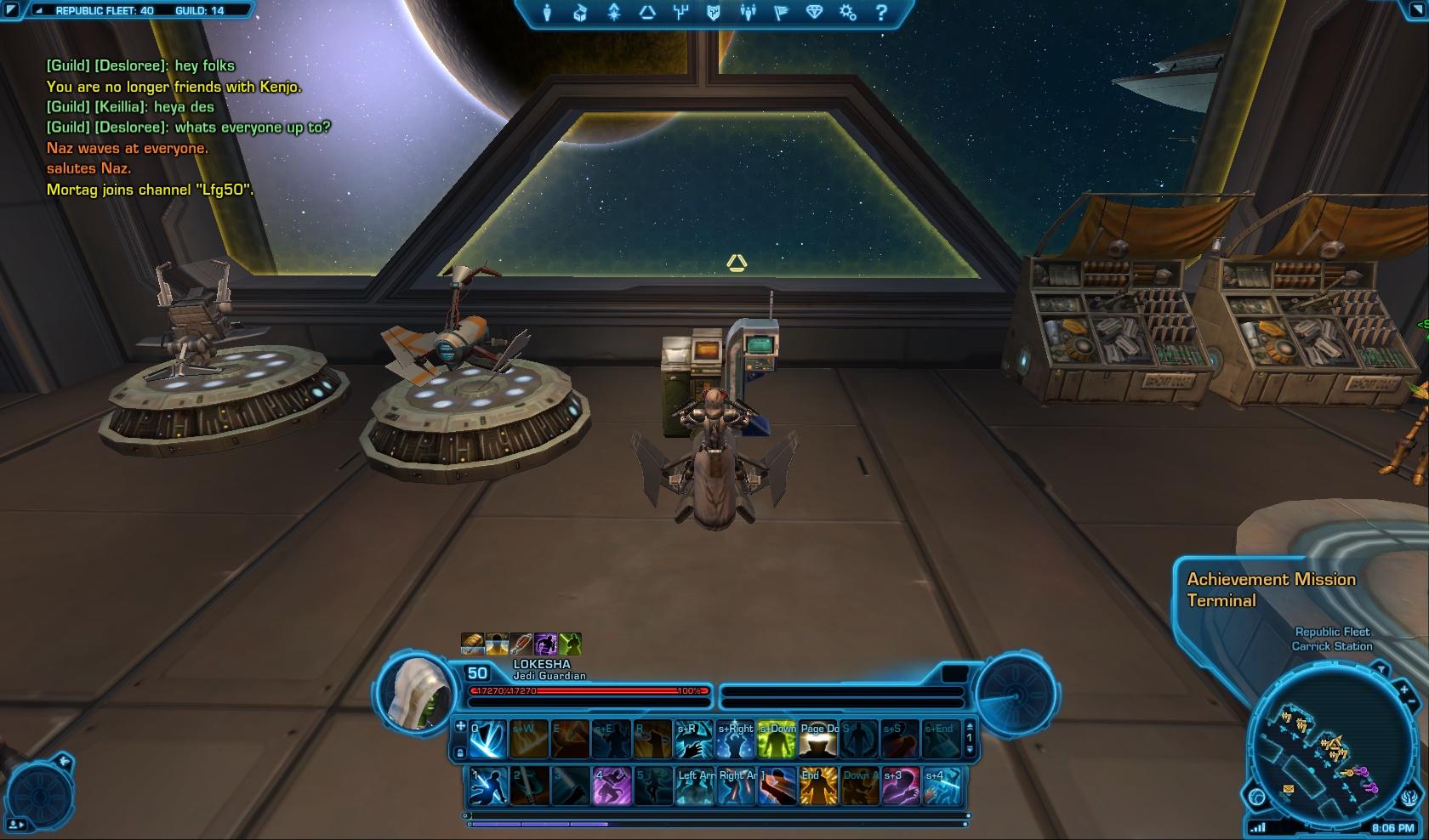 achievement mission terminal