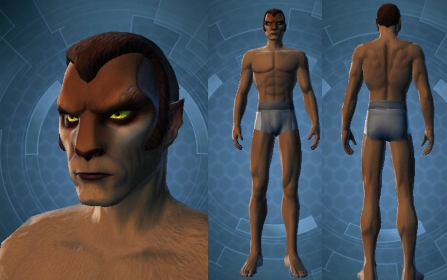 Swtor Aric Jorgan Customization 1
