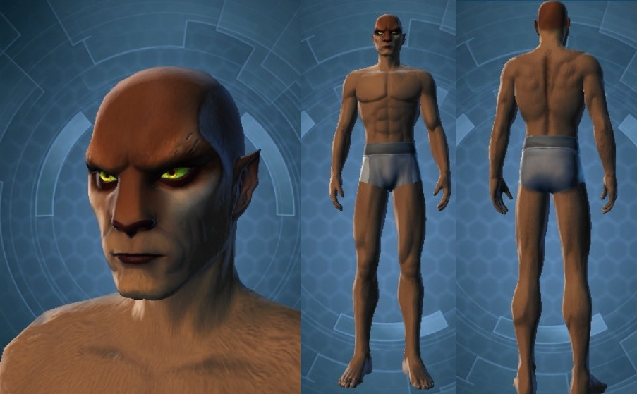 Swtor Aric Jorgan Customization Default
