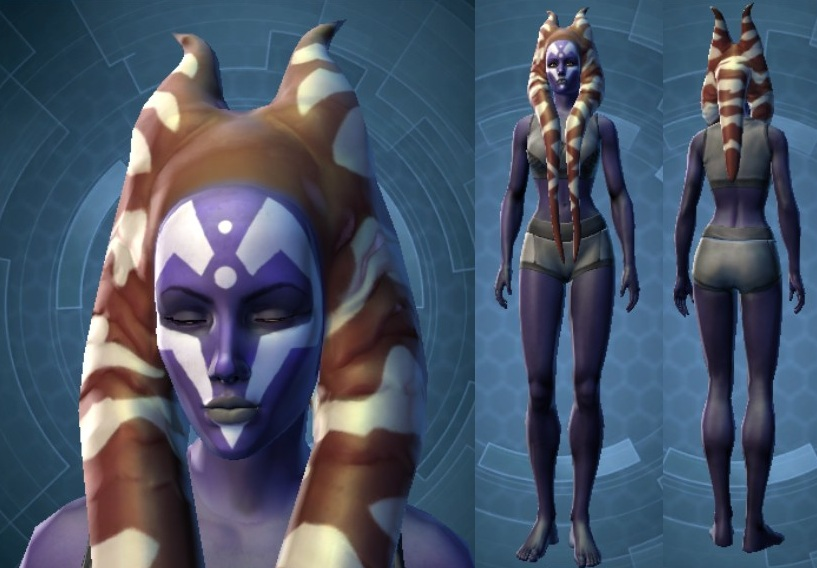 Swtor Ashara Zavros Customization 1