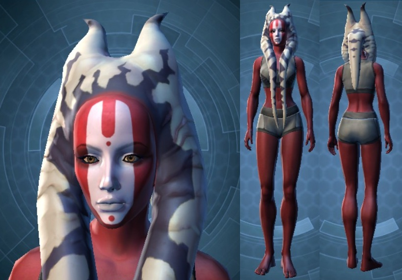 Swtor Ashara Zavros Customization 2