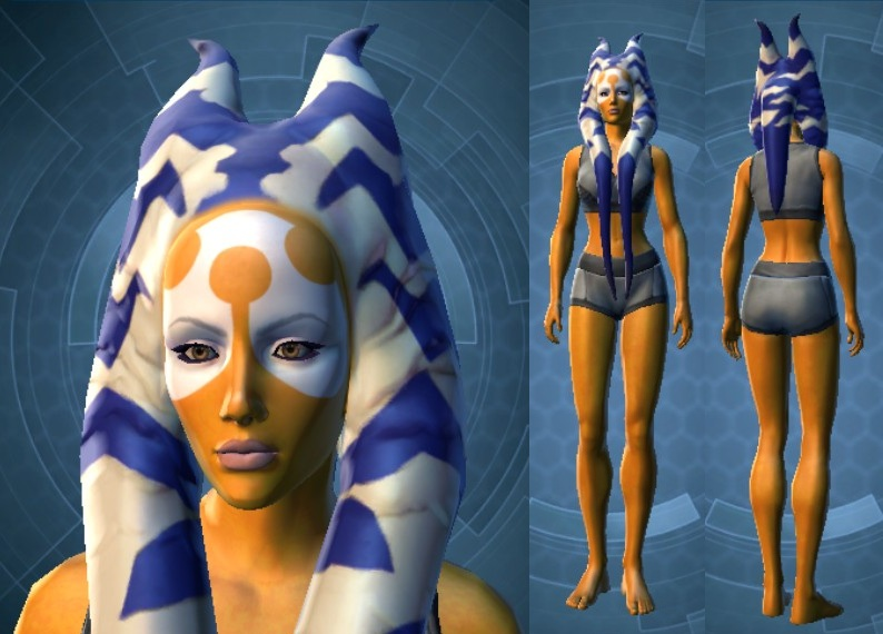 Swtor Ashara Zavros Customization Default
