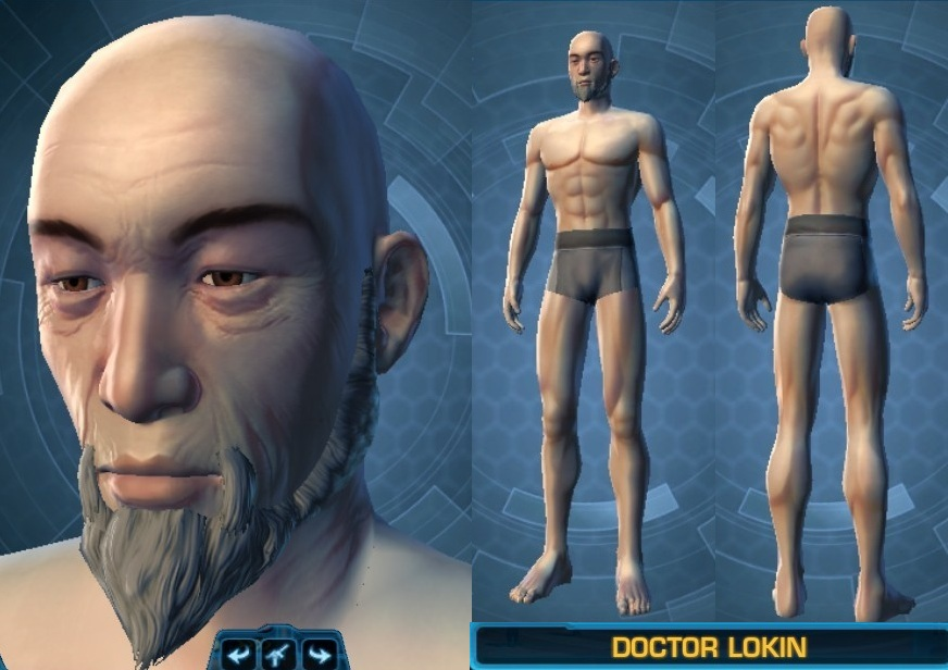 Swtor Doctor Lokin Customization 2