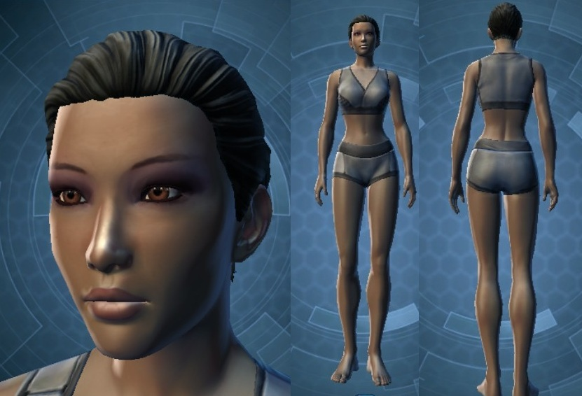 Swtor Elara Dorne Customization 1