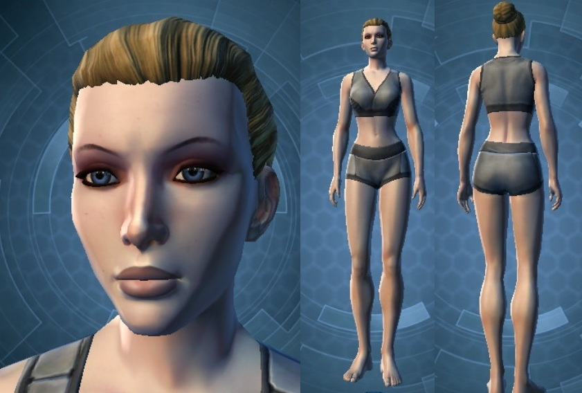 Swtor Elara Dorne Customization Default