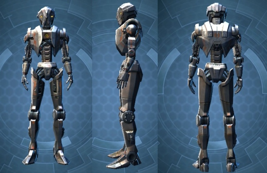 Swtor HK-51 Default Customization