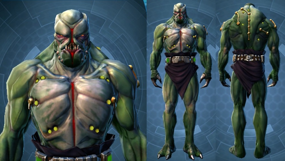 Swtor Khem Val Customization 2