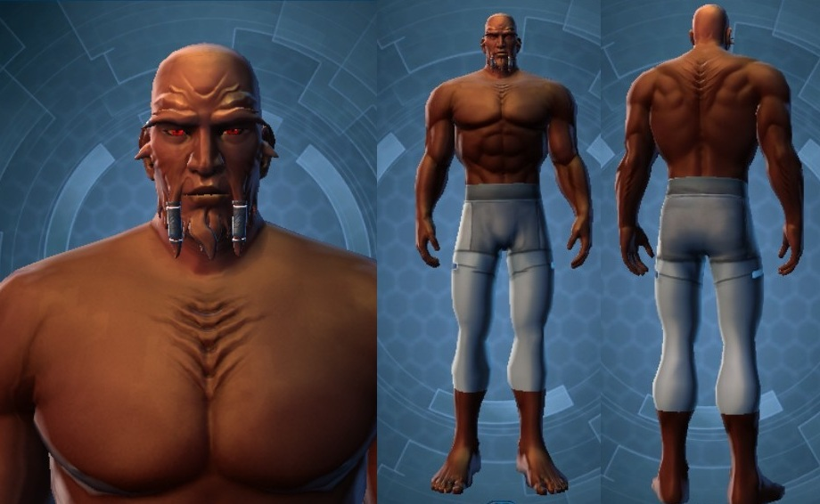 Swtor Lord Scourge Customization Default