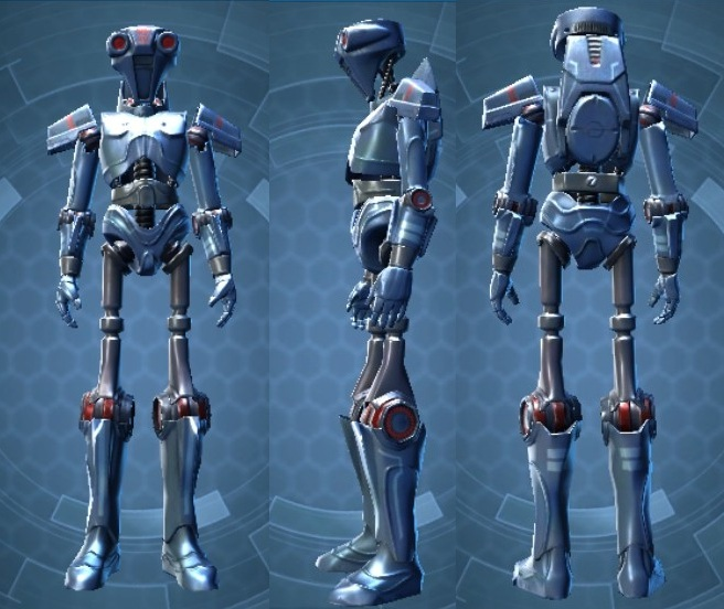 Swtor Ship Droid 2V-R8 Customization Default