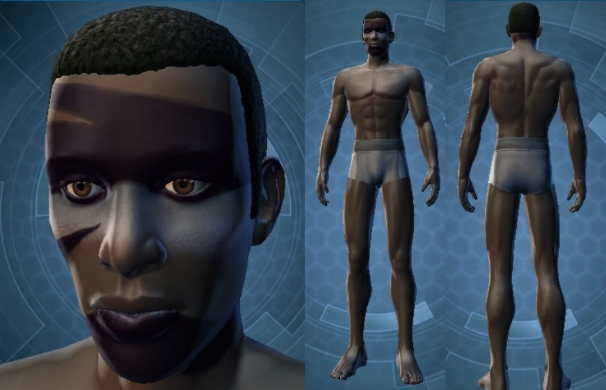 Swtor Torian Cadera Customization 1