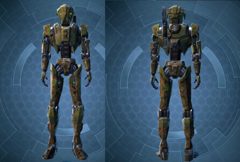 Jungle Droid HK Customization