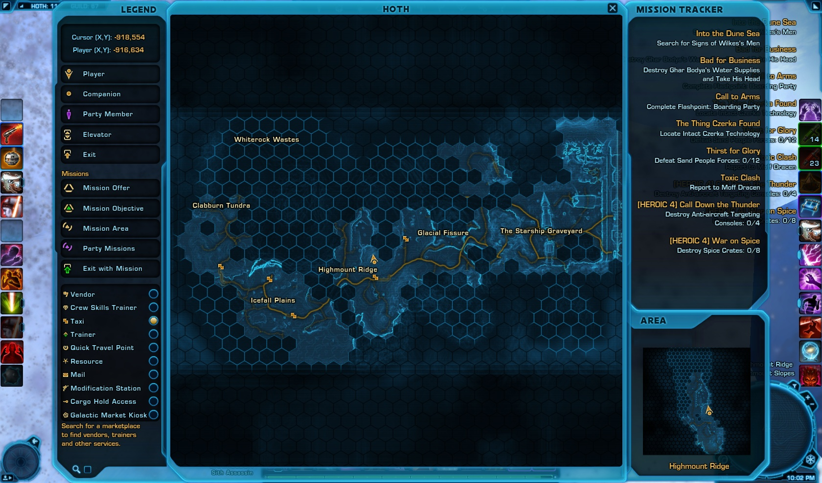 the black hole swtor map - photo #8