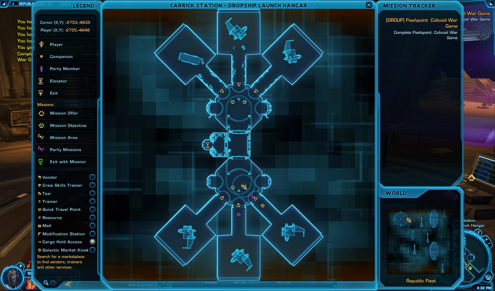 Colicoid War Game Map