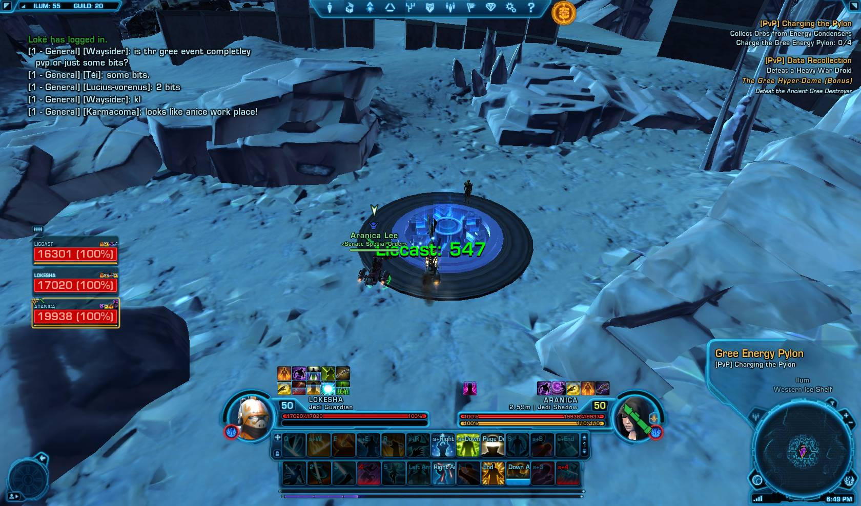 swtor how to get recovered relics