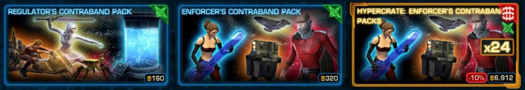 swtor contraband packs