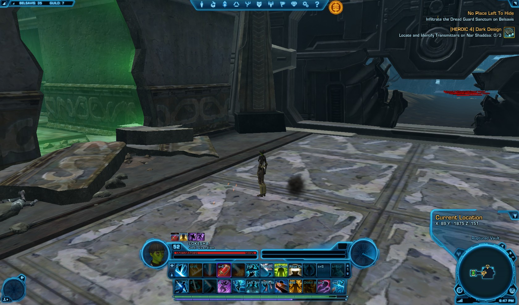 Swtor No Place Left to Hide
