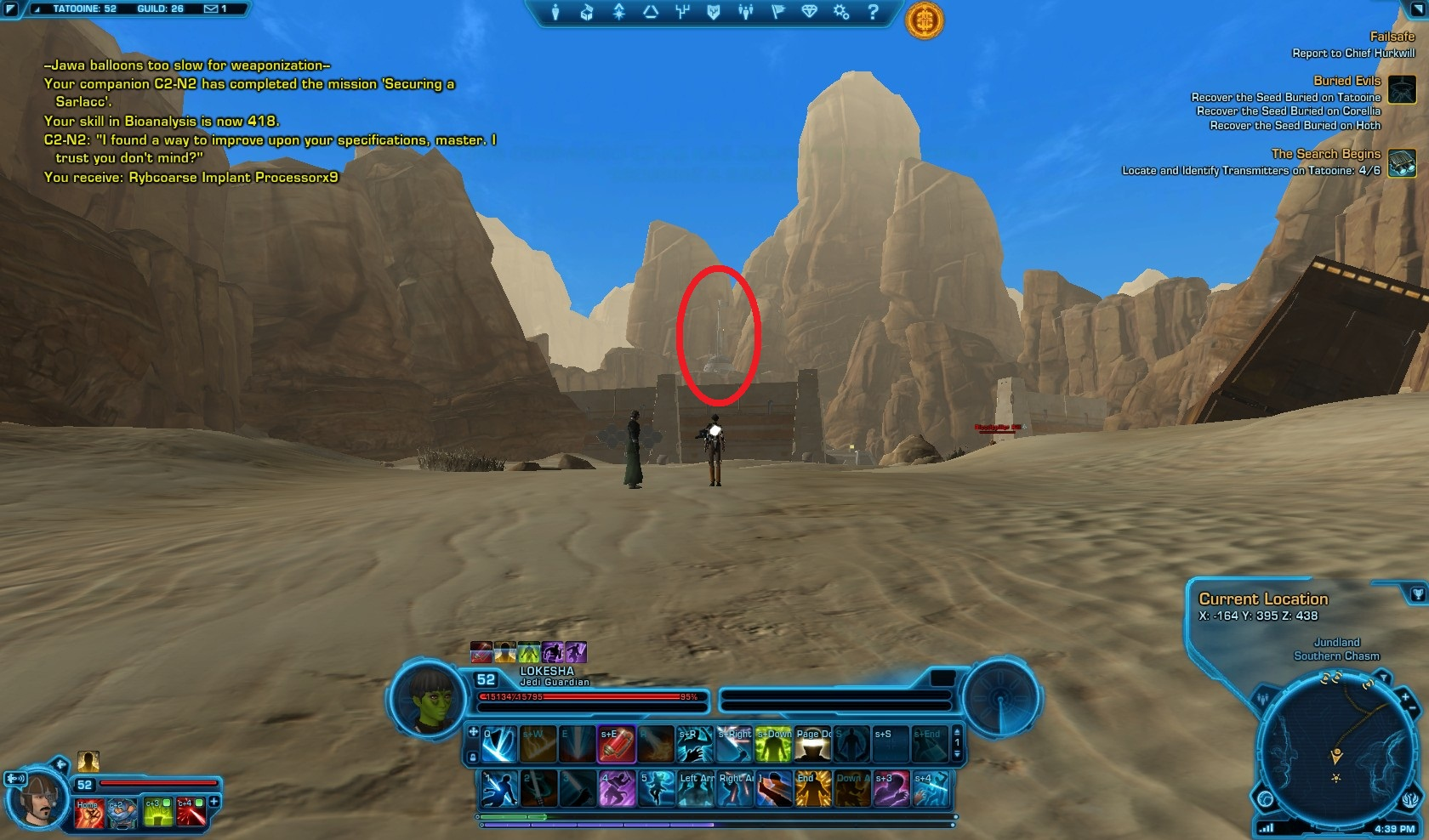 Swtor The Search Begins Macrobinoculars Mission