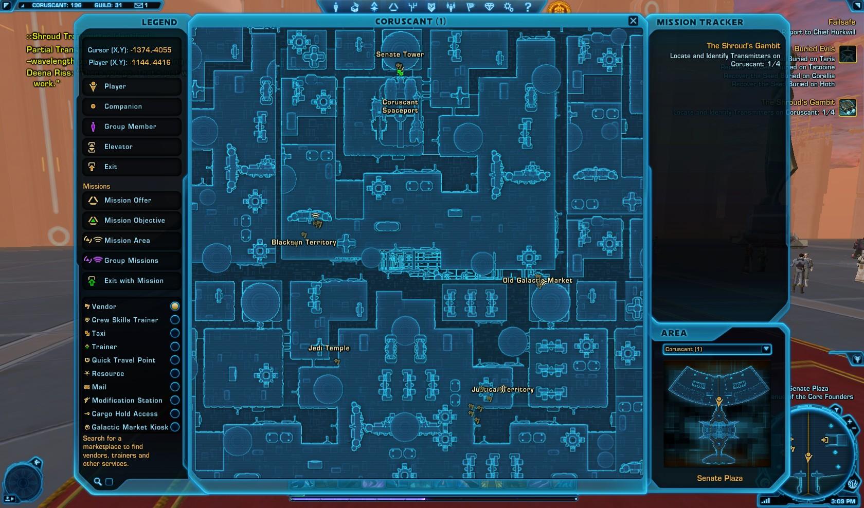 Swtor The Shrouds Gambit Macrobinocular Mission