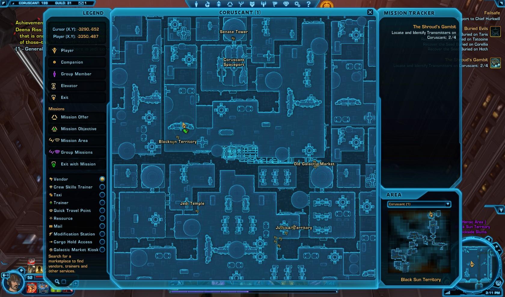 Swtor The Shrouds Gambit Macrobinoculars Mission