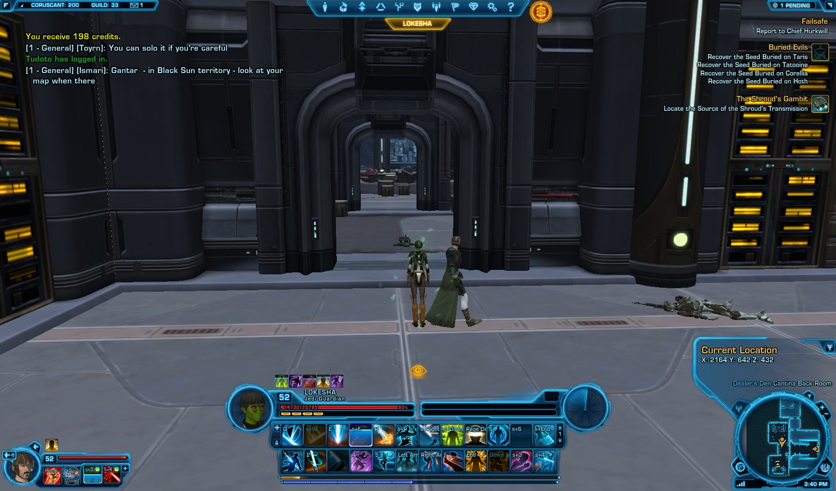 Swtor The Shrouds Gambit Macrobinoculars Mission