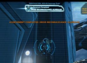 Swtor MCR-99 Droid Reconnaissance Alderaan Achievement