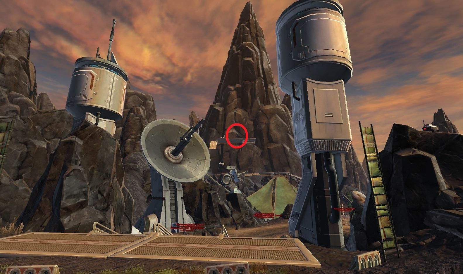 Swtor MCR 99 Droid Reconnaissance Balmorra Empire