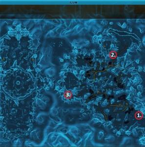Swtor MCR-99 Droid Reconnaissance Ilum Location Map