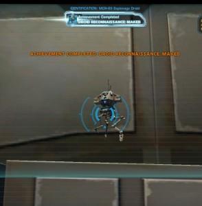 Swtor MCR-99 Droid Reconnaissance Makeb Achievement