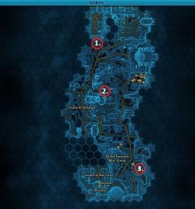 Swtor MCR-99 Droid Reconnaissance Quesh Location Map