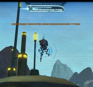 Swtor MCR-99 Droid Reconnaissance Tython