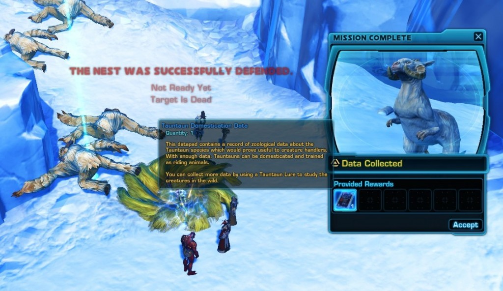 Swtor Tauntaun Domestication Data