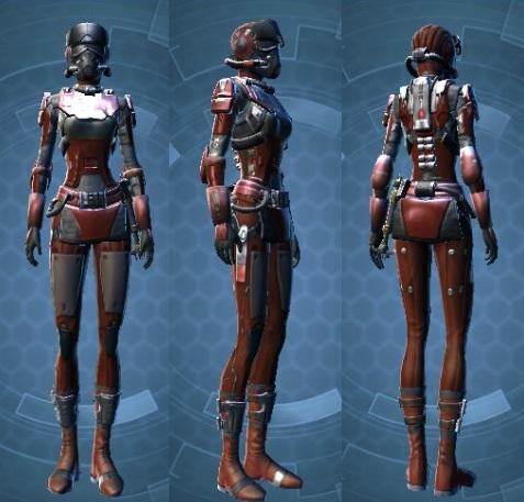 Imperial Battle Ace Pilot Suit