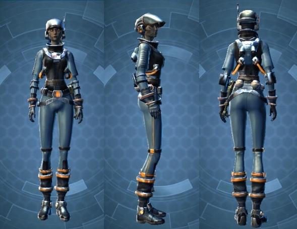 Republic Experimental Pilot Suit