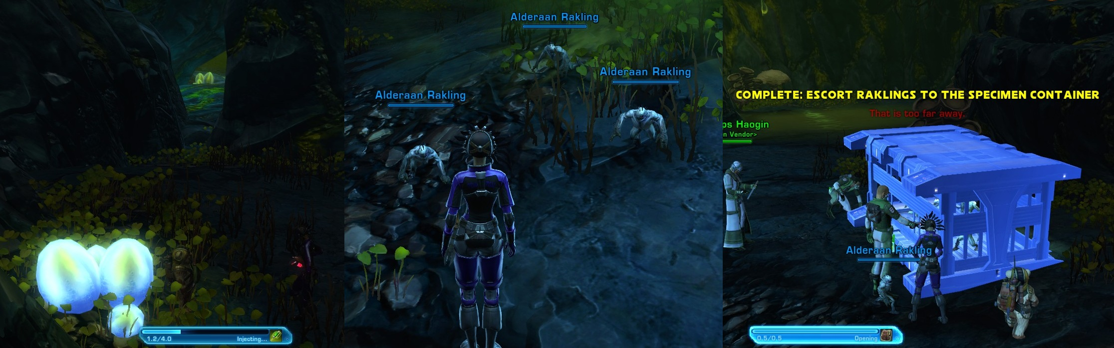 Swtor Daily Quest Rounding Up Collecting Raklings