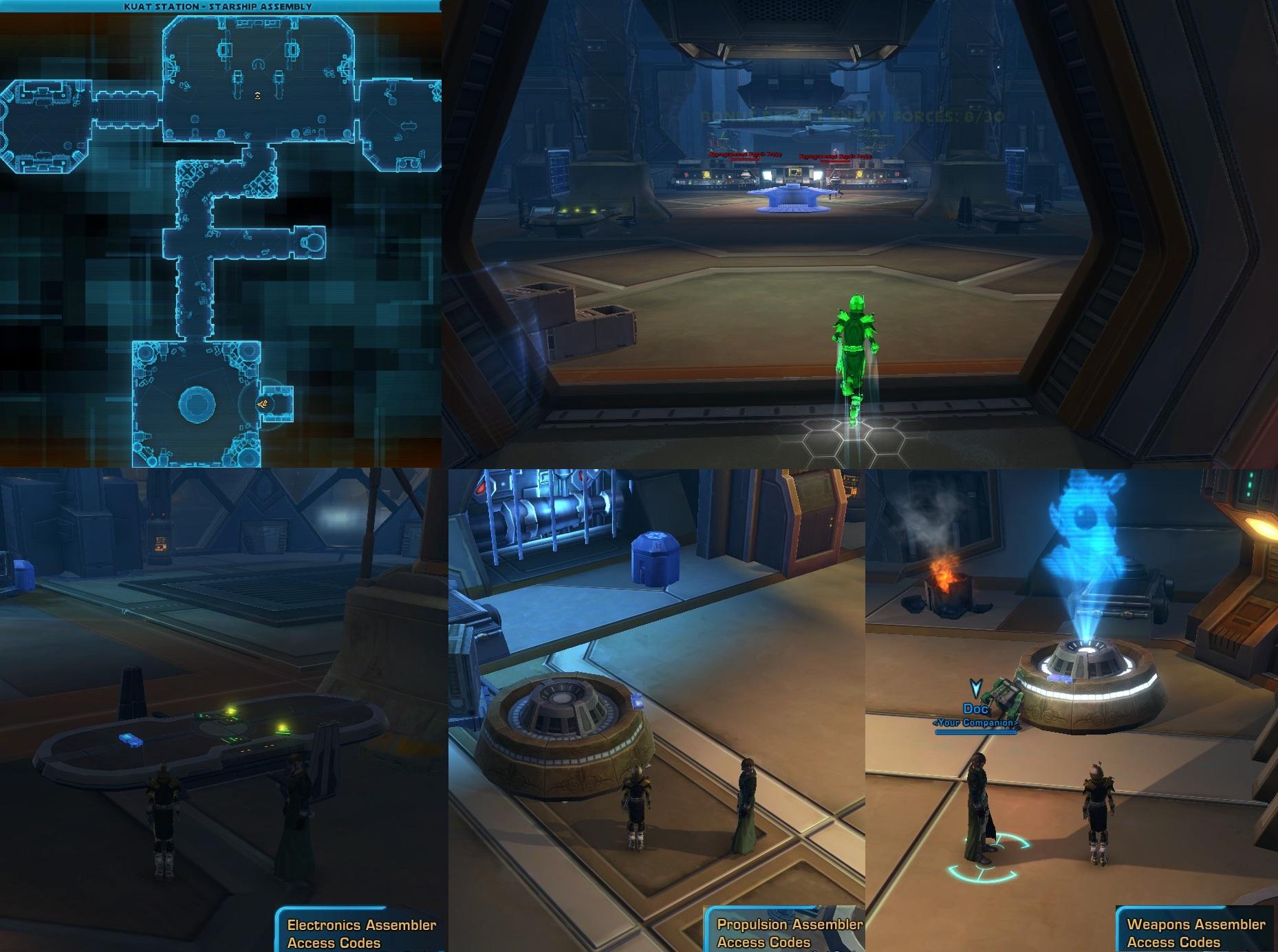 Swtor Starship Assembly Scenario